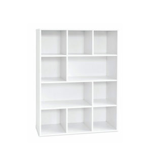White Display Shelving – Large Display Unit
