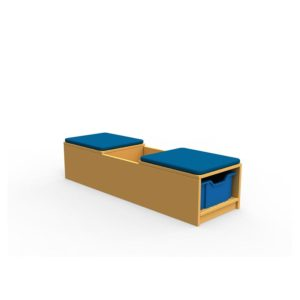 Book Seat Storage Unit