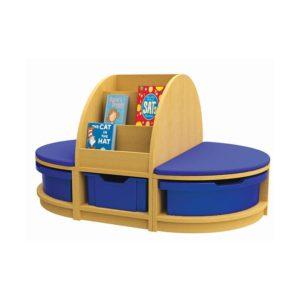 Book & Seat Island Unit