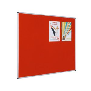 Resist-a-Flame Noticeboards – Aluminium Framed