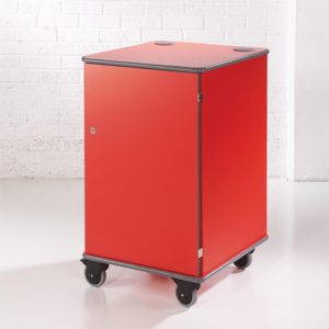 Premium Coloured Mobile Multi-Media Cabinets