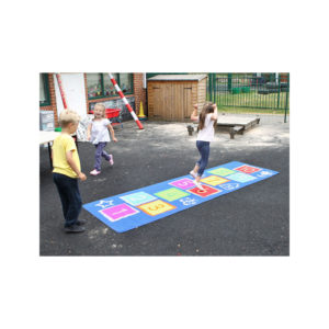 Outdoor Hopscotch Mat