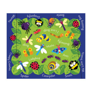 Minibeasts Outdoor Mat