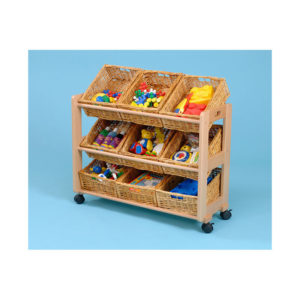 Classroom Tidy Trolleys – Single tidy trolley