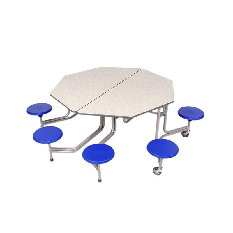 Folding Octagonal Table