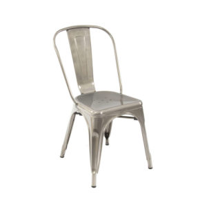 Metallique side chair
