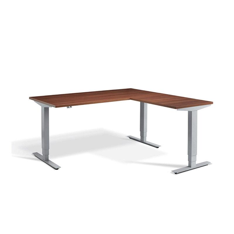 Vermont Height Adjustable Desk – Corner