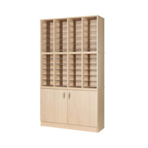 Pigeon Hole Units – 48 hole & cupboard