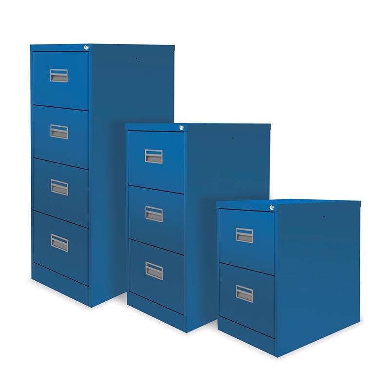 Lugano Premium Coloured Filing Cabinet