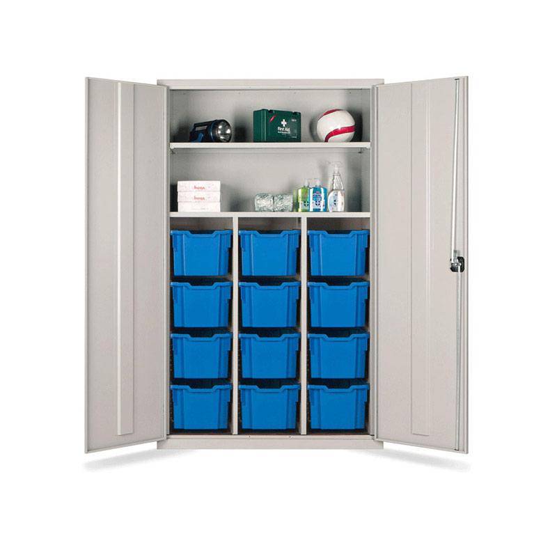 Teacher Cupboard – Tray Storage