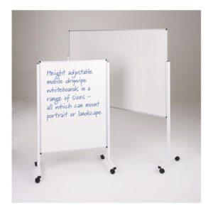 Height Adjustable Mobile Whiteboard