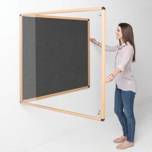 Premium Aluminium Frame Tamperproof Noticeboard