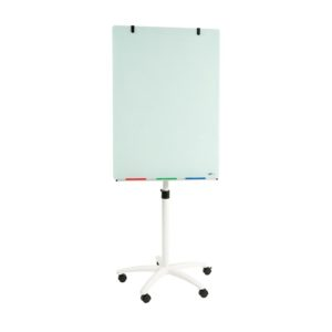 Glass Flipchart Easel 1000x700mm