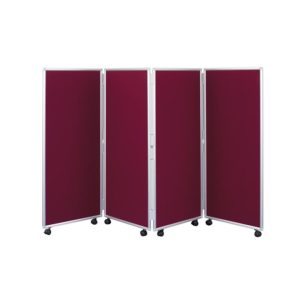 Concertina Mobile Room Dividers