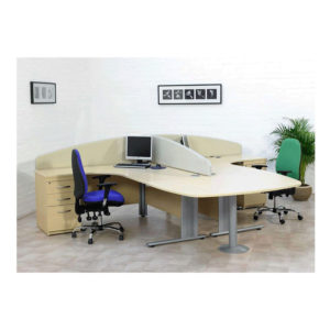 Nimbus Desk – Mounted Screens