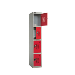 4 Compartment Charge Locker