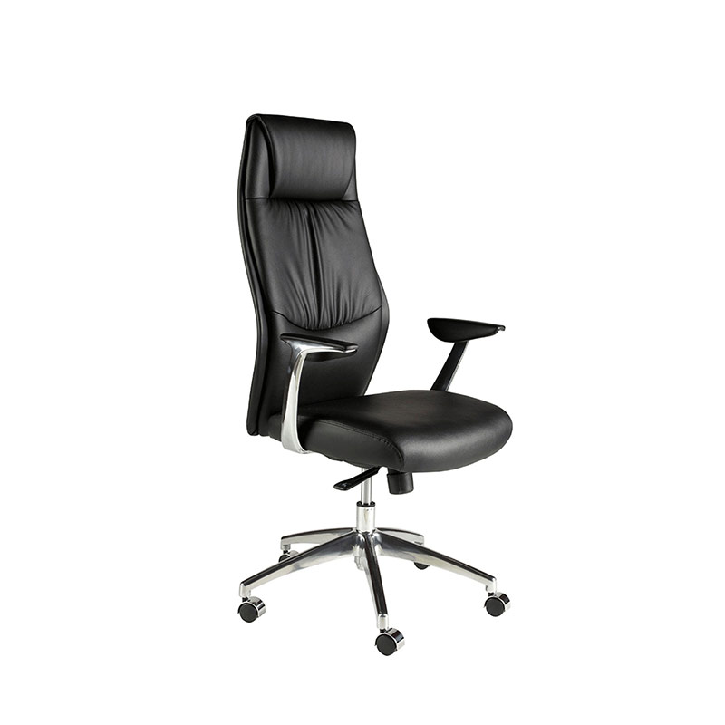 Chelsea Executive Black Leather Look Chair