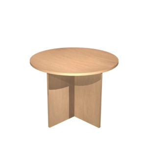 Alpine Tables – Round tables, panel leg