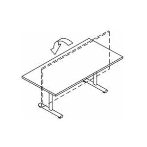 Alpine Tilt Top Tables – 800mm Deep