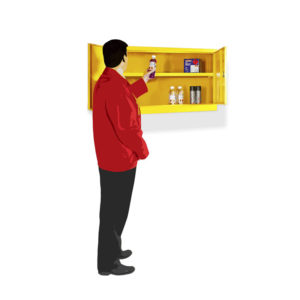 Dangerous Substance Cabinets – Wall