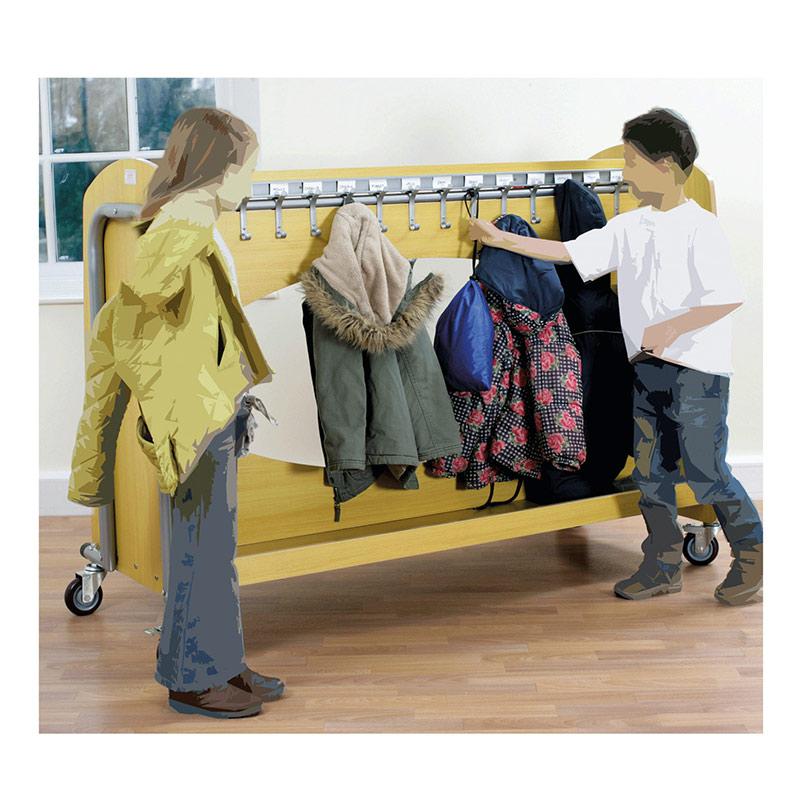 Storage Trolleys – Tech2 Cloakroom Trolley