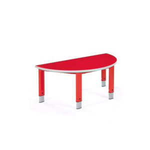 Primary Height Adjustable Tables – Semi-circular