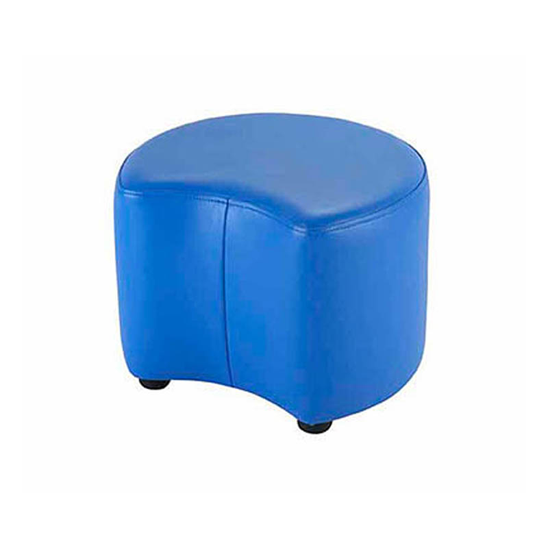 Smile Curved Pouffe
