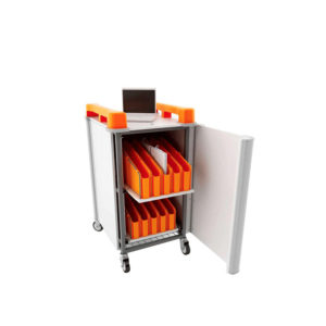 Mini Laptop Storage Trolley