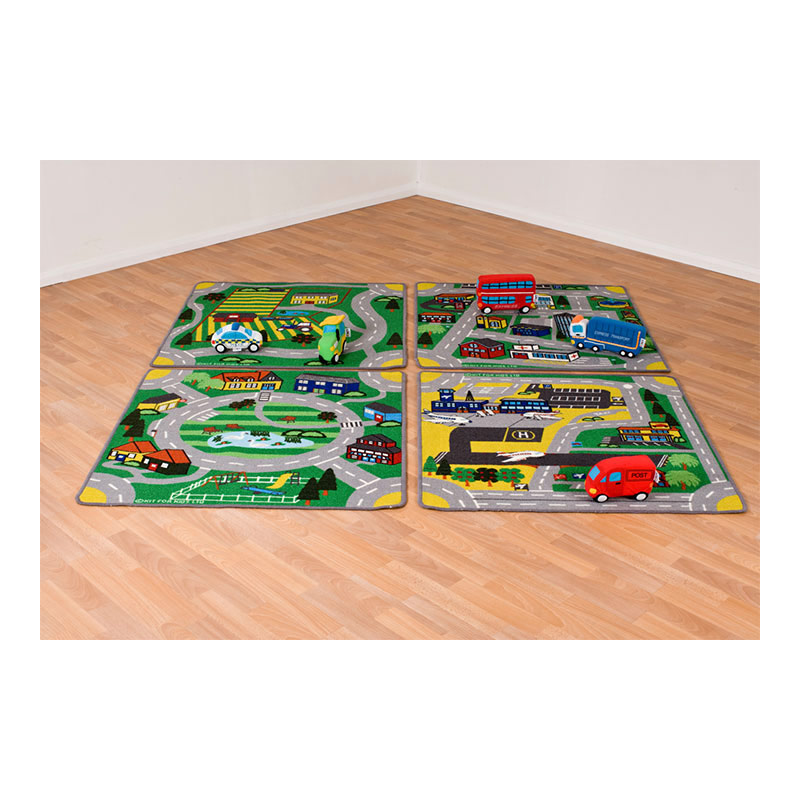 Town & Country Road Carpets Set