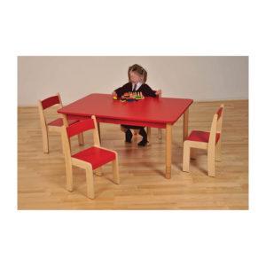 Adjustable Height Nursery Tables