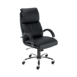 Milan Executive Chair Black Leather