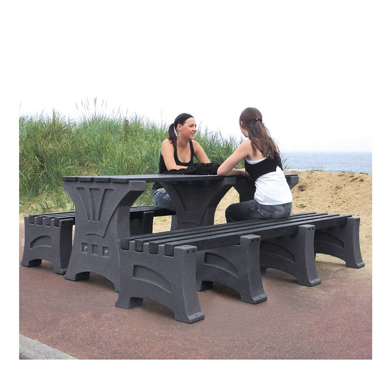 Stone Effect Table Set