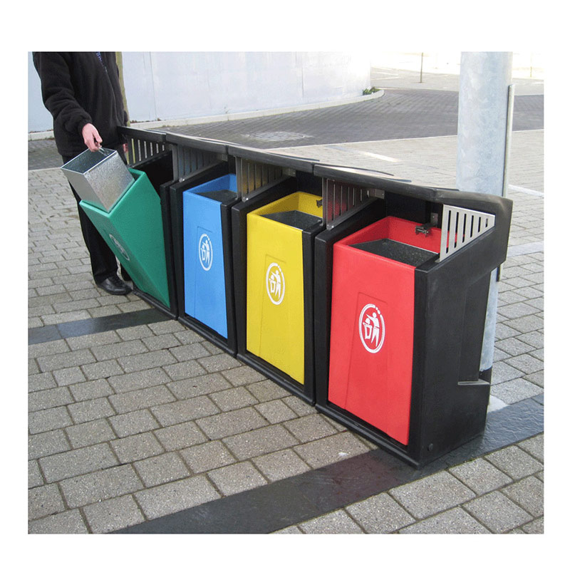 Strongbox Recycling Bin System – Set of 4