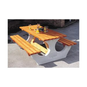 Cotswold Rectangular 8 Seater Picnic Table