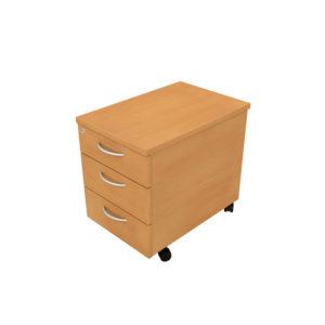 Orbit Panel Leg Desks – Mobile Pedestals