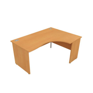 Orbit Panel Leg Desks – Crescent (Right Hand)