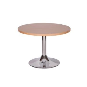 Chrome Column Leg Coffee Tables
