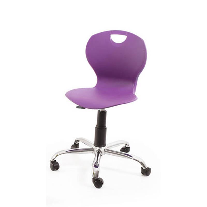 Profile Swivel Chair – Chrome Base