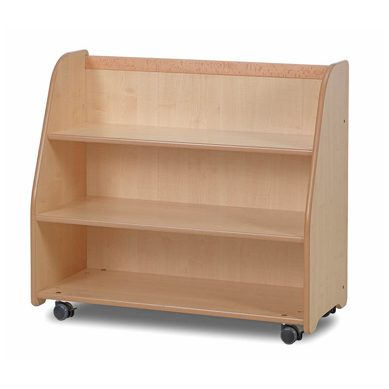 Creative! Mobile Shelf Trolley with Display & Mirror Back