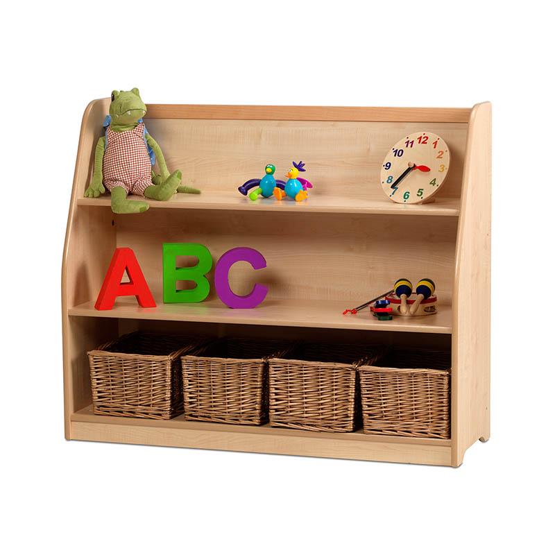 Creative! Book Storage/Display – Easy Access Shelf Unit