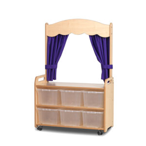 Mobile Storage Unit with Theatre Add-on
