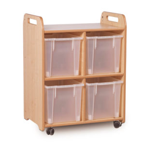 Creative! 4 Compartment Storage Unit