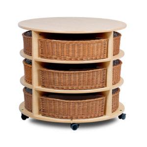 Creative!High level Circular Storage Unit