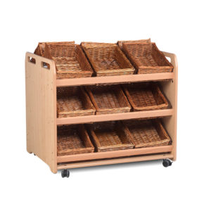 Creative! Tilt-Tote Double Sided Storage Trolley
