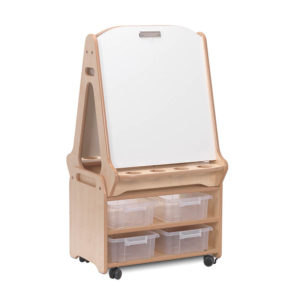 Creative! Double-sided 2-in-1 Art Easel and storage trolley