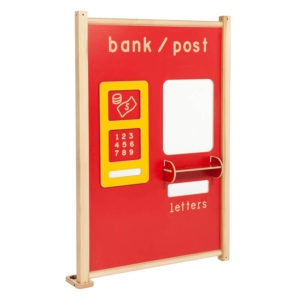 Coloured Role Play Panels – Bank/Post Office Panel