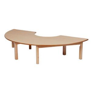 Creative! Sem-Circle Arc Nursery Table