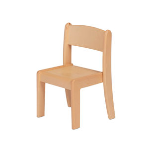 Creative! Pack of 4 Beech Stacking Chairs