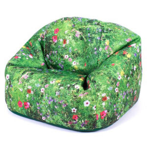 Nature Print Bean Bag