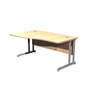 Cantilever Leg Desk Workstations – LH Wave